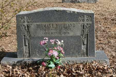 BOURLAND, THOMAS E. - Polk County, Arkansas | THOMAS E. BOURLAND - Arkansas Gravestone Photos
