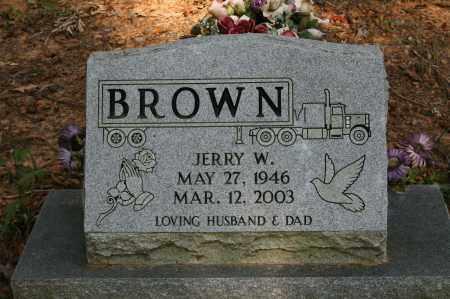 BROWN (VETERAN VIET), JERRY W - Polk County, Arkansas | JERRY W BROWN (VETERAN VIET) - Arkansas Gravestone Photos