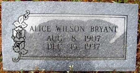 BRYANT, ALICE - Polk County, Arkansas   ALICE BRYANT - Arkansas Gravestone Photos