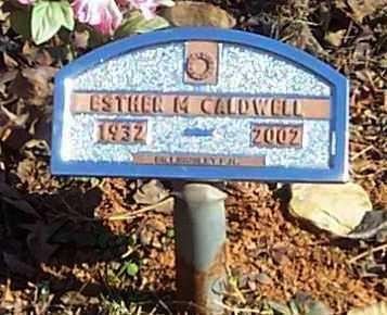 CALDWELL, ESTHER M - Polk County, Arkansas   ESTHER M CALDWELL - Arkansas Gravestone Photos