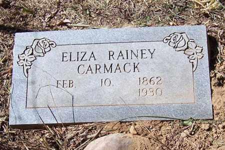 RAINEY CARMACK, ELIZA - Polk County, Arkansas | ELIZA RAINEY CARMACK - Arkansas Gravestone Photos
