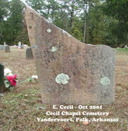 CECIL, WILLIAM - Polk County, Arkansas | WILLIAM CECIL - Arkansas Gravestone Photos