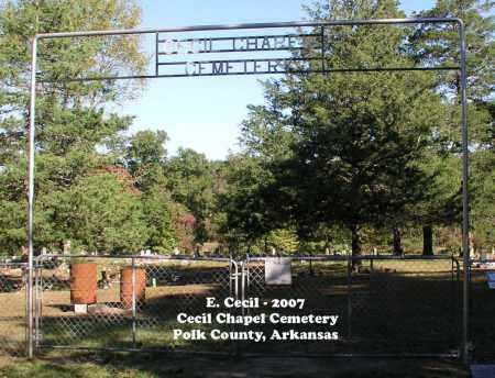 *SIGN & ENTRANCE,  - Polk County, Arkansas |  *SIGN & ENTRANCE - Arkansas Gravestone Photos