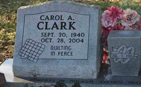 CLARK, CAROL A. - Polk County, Arkansas   CAROL A. CLARK - Arkansas Gravestone Photos