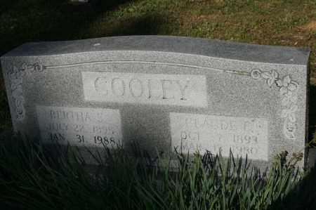COOLEY   (VETERAN WWI), CLAUDE E - Polk County, Arkansas | CLAUDE E COOLEY   (VETERAN WWI) - Arkansas Gravestone Photos