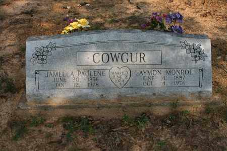COWGUR, LAYMON MONROE - Polk County, Arkansas | LAYMON MONROE COWGUR - Arkansas Gravestone Photos