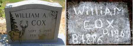COX, WILLIAM A - Polk County, Arkansas | WILLIAM A COX - Arkansas Gravestone Photos