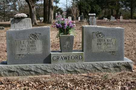 CRAWFORD, DEFFA MAE - Polk County, Arkansas | DEFFA MAE CRAWFORD - Arkansas Gravestone Photos