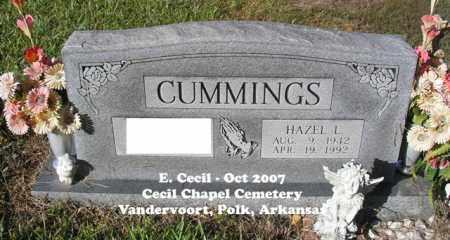 CUMMINGS, HAZEL L. - Polk County, Arkansas   HAZEL L. CUMMINGS - Arkansas Gravestone Photos