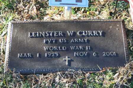 CURRY (VETERAN WWII), LEINSTER W - Polk County, Arkansas | LEINSTER W CURRY (VETERAN WWII) - Arkansas Gravestone Photos