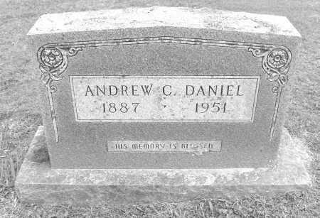 DANIEL, ANDREW CLEVELAND - Polk County, Arkansas   ANDREW CLEVELAND DANIEL - Arkansas Gravestone Photos