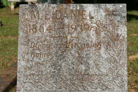DANIEL, M.E. - Polk County, Arkansas | M.E. DANIEL - Arkansas Gravestone Photos