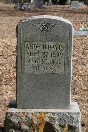DAVIS, ANDY D. - Polk County, Arkansas | ANDY D. DAVIS - Arkansas Gravestone Photos