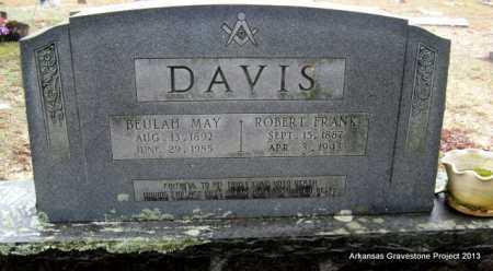DAVIS, ROBERT FRANK - Polk County, Arkansas | ROBERT FRANK DAVIS - Arkansas Gravestone Photos