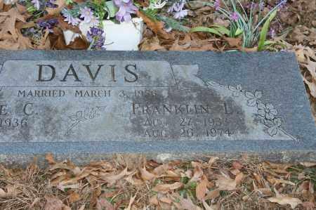 DAVIS, FRANKLIN L. - Polk County, Arkansas | FRANKLIN L. DAVIS - Arkansas Gravestone Photos