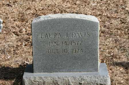 DAVIS, LAURA J. - Polk County, Arkansas | LAURA J. DAVIS - Arkansas Gravestone Photos