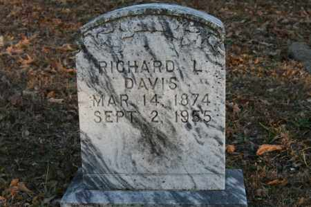 DAVIS, RICHARD L. - Polk County, Arkansas | RICHARD L. DAVIS - Arkansas Gravestone Photos