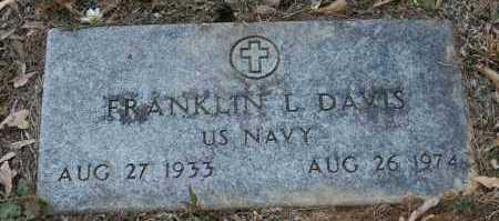 DAVIS (VETERAN), FRANKLIN L. - Polk County, Arkansas | FRANKLIN L. DAVIS (VETERAN) - Arkansas Gravestone Photos