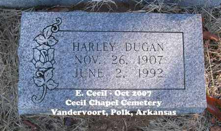 DUGAN, HARLEY - Polk County, Arkansas | HARLEY DUGAN - Arkansas Gravestone Photos