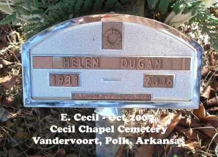 DUGAN, HELEN - Polk County, Arkansas | HELEN DUGAN - Arkansas Gravestone Photos