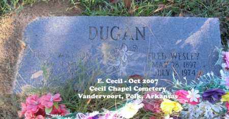 DUGAN, LUCY - Polk County, Arkansas | LUCY DUGAN - Arkansas Gravestone Photos