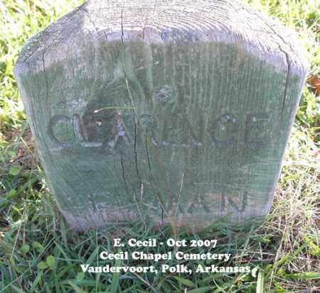 ESMAN, CLARENCE - Polk County, Arkansas | CLARENCE ESMAN - Arkansas Gravestone Photos