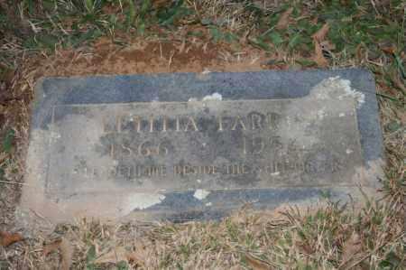 FARRIS, LETITIA - Polk County, Arkansas   LETITIA FARRIS - Arkansas Gravestone Photos