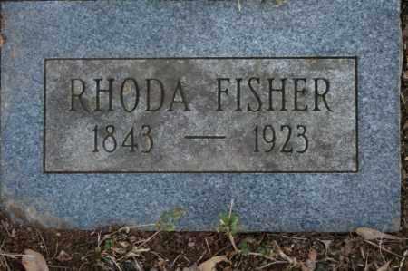 FISHER, RHODA - Polk County, Arkansas | RHODA FISHER - Arkansas Gravestone Photos