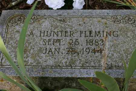 FLEMING, A. HUNTER - Polk County, Arkansas | A. HUNTER FLEMING - Arkansas Gravestone Photos