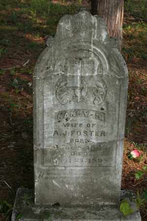 FOSTER, NANCY E. - Polk County, Arkansas | NANCY E. FOSTER - Arkansas Gravestone Photos