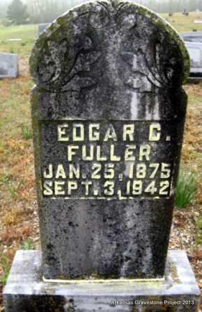 FULLER, EDGAR C - Polk County, Arkansas | EDGAR C FULLER - Arkansas Gravestone Photos