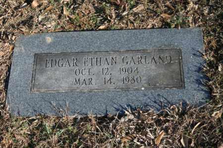 GARLAND, EDGAR ETHAN - Polk County, Arkansas | EDGAR ETHAN GARLAND - Arkansas Gravestone Photos
