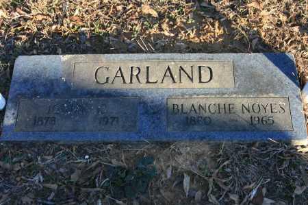 NOYES GARLAND, BLANCHE - Polk County, Arkansas | BLANCHE NOYES GARLAND - Arkansas Gravestone Photos