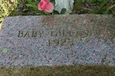 GILLASPY, BABY - Polk County, Arkansas | BABY GILLASPY - Arkansas Gravestone Photos
