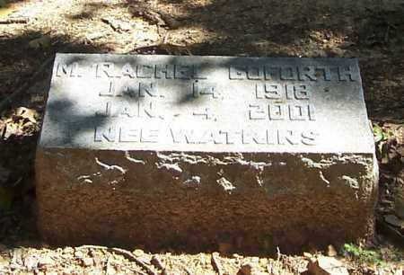 GOFORTH, M. RACHEL - Polk County, Arkansas   M. RACHEL GOFORTH - Arkansas Gravestone Photos