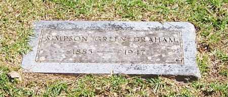 GRAHAM, SIMPSON GREEN - Polk County, Arkansas   SIMPSON GREEN GRAHAM - Arkansas Gravestone Photos