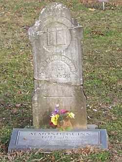 GUINN, ALMONO - Polk County, Arkansas   ALMONO GUINN - Arkansas Gravestone Photos