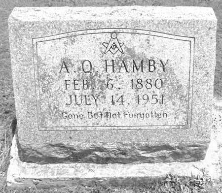 HAMBY, ABSOLUM QUINCY - Polk County, Arkansas | ABSOLUM QUINCY HAMBY - Arkansas Gravestone Photos