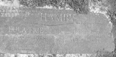 HAMBY, EULA J. - Polk County, Arkansas | EULA J. HAMBY - Arkansas Gravestone Photos
