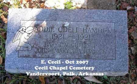 HAMOCK, ADDIE ODELL - Polk County, Arkansas   ADDIE ODELL HAMOCK - Arkansas Gravestone Photos