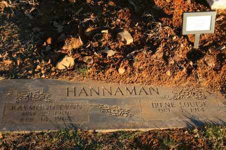 HANNAMAN, RAYMOND LYNN - Polk County, Arkansas | RAYMOND LYNN HANNAMAN - Arkansas Gravestone Photos