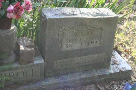 HARROFF, PAULINE - Polk County, Arkansas | PAULINE HARROFF - Arkansas Gravestone Photos