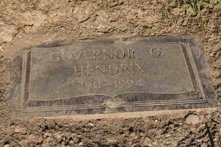 HENDRIX, GOVERNOR O. - Polk County, Arkansas | GOVERNOR O. HENDRIX - Arkansas Gravestone Photos