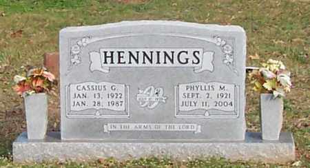 HENNINGS, PHYLLIS M. - Polk County, Arkansas   PHYLLIS M. HENNINGS - Arkansas Gravestone Photos