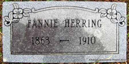 WALTON HERRING, FANNIE ELIZABETH - Polk County, Arkansas | FANNIE ELIZABETH WALTON HERRING - Arkansas Gravestone Photos