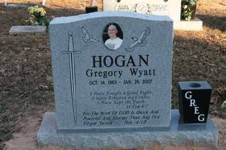 HOGAN, GREGORY WYATT - Polk County, Arkansas   GREGORY WYATT HOGAN - Arkansas Gravestone Photos