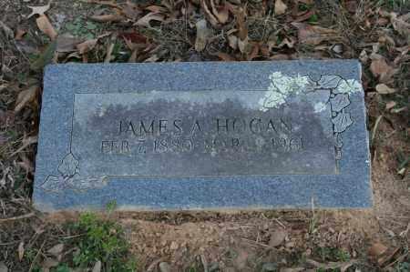 HOGAN, JAMES A. - Polk County, Arkansas | JAMES A. HOGAN - Arkansas Gravestone Photos