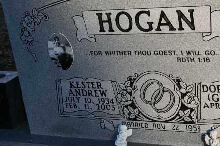 HOGAN, KESTER ANDREW - Polk County, Arkansas | KESTER ANDREW HOGAN - Arkansas Gravestone Photos