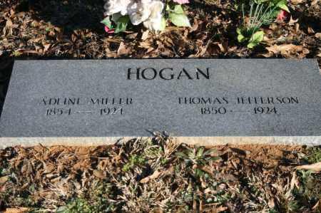 MILLER HOGAN, ADLINE - Polk County, Arkansas | ADLINE MILLER HOGAN - Arkansas Gravestone Photos