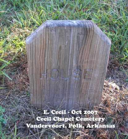HOUSE, UNKNOWN - Polk County, Arkansas | UNKNOWN HOUSE - Arkansas Gravestone Photos